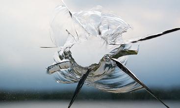 Steinschlag | Glasbruch